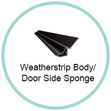 Weatherstrip Body / Door Side Sponge